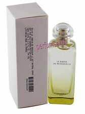 Hermes Le Jardin de Monsieur LI (Unbox)  3.3/3.4oz EDT Spray NEW For Women