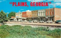 Plains GA~Home~Jimmy Carter~Main St~RR Tracks~Antiques~Nice Cars~Campers~1970s