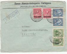 Colombia: Airmail Cover; Banco Aleman-Antioqueno, Cartagena-Bogota, 20 Nov 1932