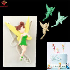 Fairy Tinker Bell Silicone Fondant Molds Cake Decorting Mold Candy Baking Tool