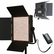 LED Panel Video Light 62W Bi-Colour Dimmable 1024pcs V-Mount Plate Photography