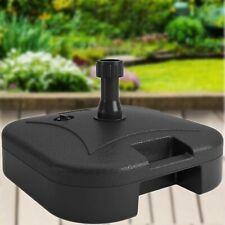 22Kg Square Parasol Plastic Base Umbrella Garden Patio Portable Stand Water Fill