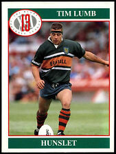 TIM lumb # 142 MERLIN RUGBY FOOTBALL LEAGUE 1991 commercio CARD (C247)