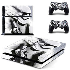 STAR WARS STORMTROOPER Ps4 skin Autocollant Console + Manettes Ps4