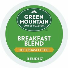 Green Mountain Coffee K-Cup Coffee for Keurig Brewers - Breakfast Blend, 96 Ct