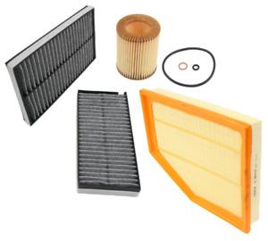 Air Filter Oil Filter AC Cabin Filter Carbon BMW 525i 525xi 528i 528xi 530i
