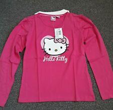 Girls Hello Kitty T Shirt Size 8-10 UK