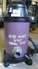 Minuteman Bio-Haz Vacuum 82907 with UPLA filter head assembly 829118 REMOVE MOLD