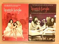 LOT 2 COFFRETS 5 DVD / LIPSTICK JUNGLE SAISON 1 ET 2 / TRES BON ETAT