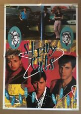 Stray Cats Blast Off Vintage Poster Promo 1980's Pin-up Retro Music Advertising