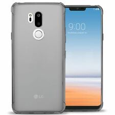 Clear For LG G7 ThinQ Case - Flexible TPU Rubber Gel Slim Fit Phone Cover