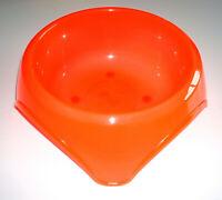 Gamelle pour Chiens Animaux FRISKIES Plastiques Taille : 19,5 cm Orange NEUF