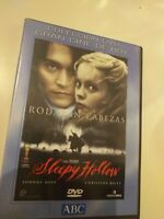 Dvd  sleepy hollow (rodaran cabezas ) con johnny depp...