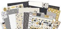 """Kaisercraft 'FIRST NOEL' 12x12"""" Paper Christmas 2018/Gold (You Choose) KAISER"""