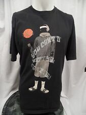 "NIKE ""  You Can't ""D"" What You Can't See "" T-Shirt Black Men's Extra Large XL"