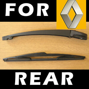 Rear Wiper Arm and Blade for RENAULT Scenic RX4 2000-2003 35cm