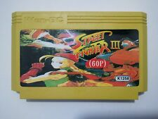 Street fighter 5 turbo 60p - MEGA RARE Famicom Famiclone Nes Cartridge