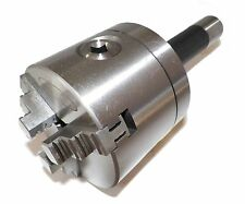 3 3 Jaw Lathe Chuck With R8 Shank Non Rotating Precision In Prime Quality