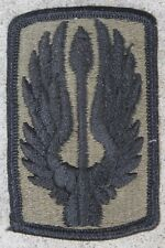 New 18th Aviation Brigade Patch, Sew-On, Subdued