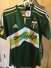AUTHENTIC MLS ADIDAS PLAYER ISSUED PORTLAND TIMBERS MENS S JERSEY $120 Retail