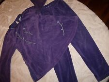 GYMBOREE 2 PC TOP SIZE 4 5 YEARS OUTFIT SHIRT PANTS LEGGING VINTAGE PURPLE FALL
