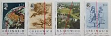 Centenary of Greenwich Meridian Great Britain stamps SG ref: 1254-1257, '84, MNH