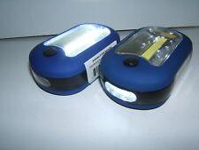 2 Pcs ULTRA BRIGHT PORTABLE LED WORK LIGHT/ FLASHLIGHT.