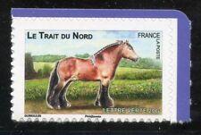 STAMP TIMBRE FRANCE AUTOADHESIF N° 816 ** FAUNE / CHEVAUX DE TRAIT DE NOS REGION
