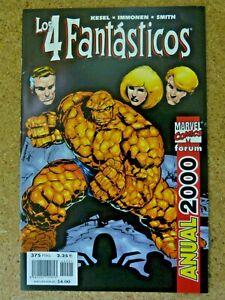 Los 4 Fantasticos.Anual 2000.Forum.Marvel