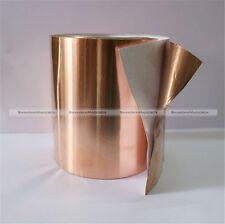 3 Meters 10cm EMI Copper Foil Shielding Tape Double Conductive Self Adhesive S8