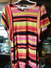 Almost Famous Short Sleeve Tunic Top Size M Free Shipping