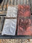 ANTIQUE STAMPED TIN METAL  ROOF CEILING TILES 9 X 14  lot of 12 free shipping