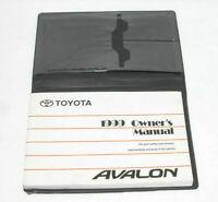 1999 Toyota Avalon Factory Original Owners Manual Portfolio #15