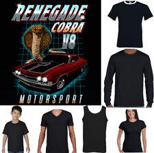 Renagade Cobra T-Shirt V8 Muscle Car AC Shelby Mustang Motorsport GT Engine