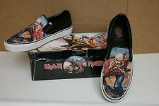 "Vans Iron Maiden ""The Trooper"" 2007 Board Shoes Sneakers Size Mens 9.5 Women 11"
