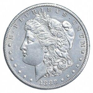 AU/Unc - 1880-S Morgan Silver Dollar $1.00 High Grade *318