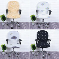 Computer Chair Cover Office Desktop Seat Decor Slip-cover Elastic Stretchable
