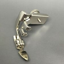 Zipper/piping Foot All Metal Adjustable Low Shank Narrow fit most Sewing Machine