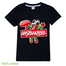 Unspeakable UnspeakableGaming 3 Boy Girl Unisex Kid T Shirt 100% Cotton AU Shop