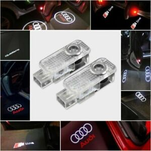 Für Audi CREE LED Projektor Autotürleuchten Shadow Puddle Courtesy Laser LOGO