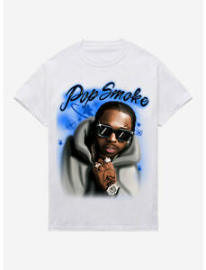 Pop Smoke Airbrush T-Shirt