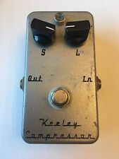 Keeley Electronics C2 2-Knob Compressor Sustainer Guitar Effect Pedal