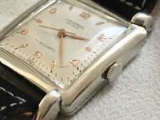 Universal Geneve vintage square watch 40s  (automatic bumper) cal. 139