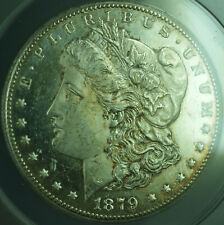 1879-CC Cameo PL Morgan Silver Dollar $1 Coin ANACS MS-62 Prooflike Better (28)