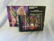 GENUINE SEGA MEGA DRIVE GAME - DRAGON'S REVENGE - TESTED