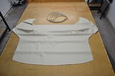 1956 56 FORD THUNDERBIRD W PORTHOLE BONE OFF WHITE HEADLINER 4 BOW USA MADE