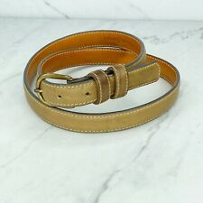 Levi's Vintage Brown Leather Belt Size Large Womens