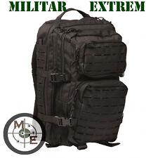 Mochila Commando Mil-tec Táctica Assault 50 litros 3 Days Lasercut negro