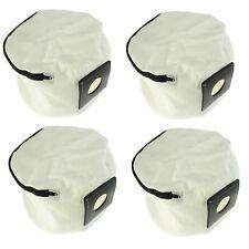 4 x Reißverschluss wiederverwendbar Staubsauger Hoover Staubbeutel für