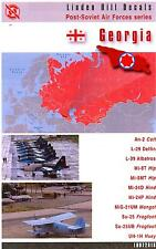 Linden Hill Decals 1/72 GEORGIA AIR FORCE Post Soviet Air Force Series